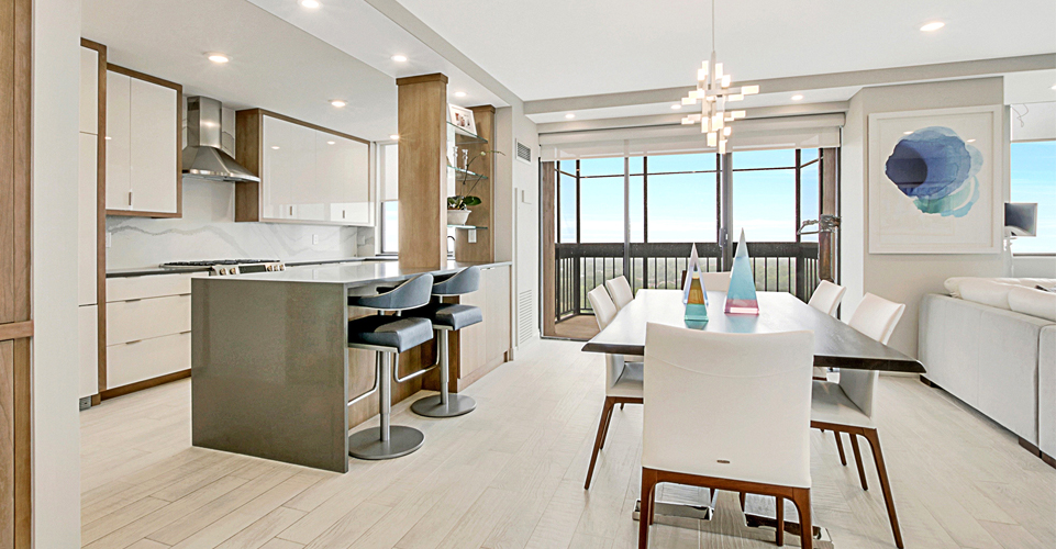 North Shore Towers apartment